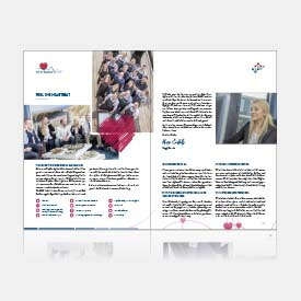 Image brochure and new logo for IT company VIADA from Dortmund