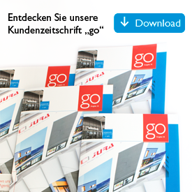 "Discover our customer magazine ""go""!"